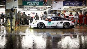 Porsche 911 RSR - Startnummer 93 - 24h-Rennen Le Mans 2016 - Donnerstag - 16.6.2016