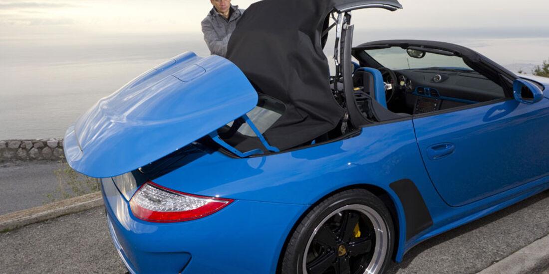 Porsche 911 Speedster, Stoffverdeck