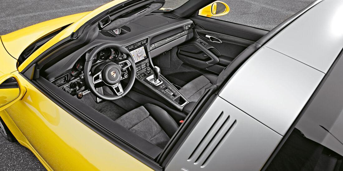 Porsche 911 Targa 4S, Targabügel