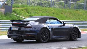 Porsche 911 Turbo Cabrio Erlkönig