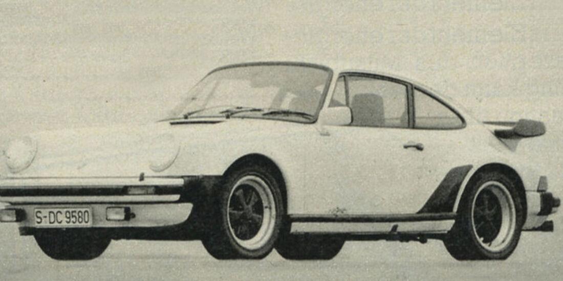 Porsche, 911 Turbo, IAA 1981