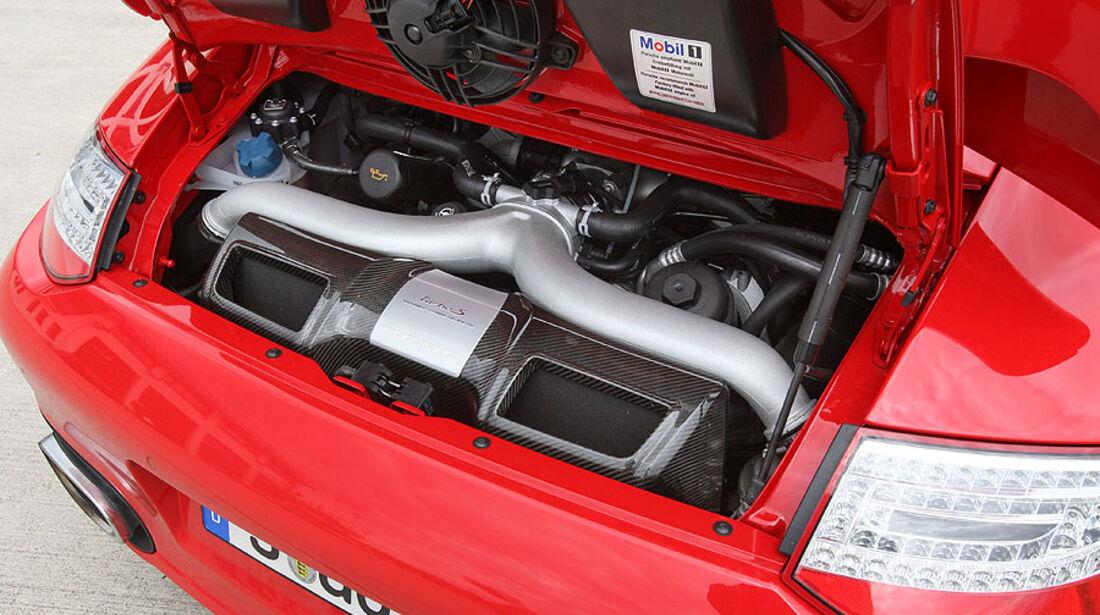Porsche 911 Turbo, Motor