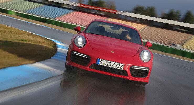 Porsche 911 Turbo S (991 II) - Sportwagen - Fahrbericht - Hockenheim