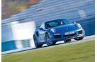 Porsche 911 Turbo S, Frontansicht, Driften