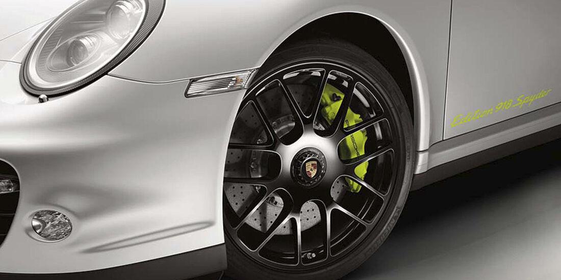 Porsche 911 Turbo S Porsche 918 Spyder Edition, Felge
