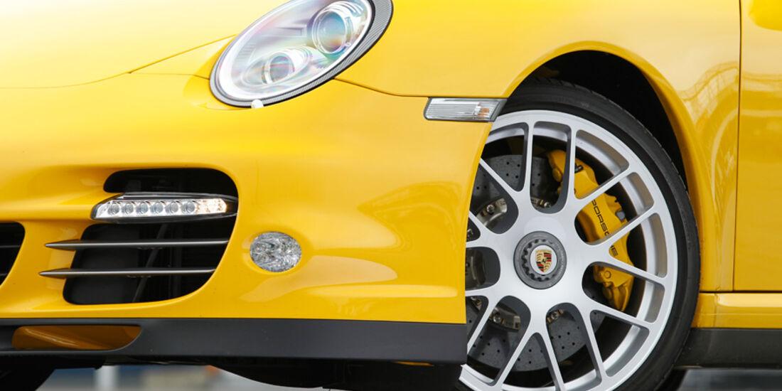 Porsche 911 Turbo, Vorderrad, Felge