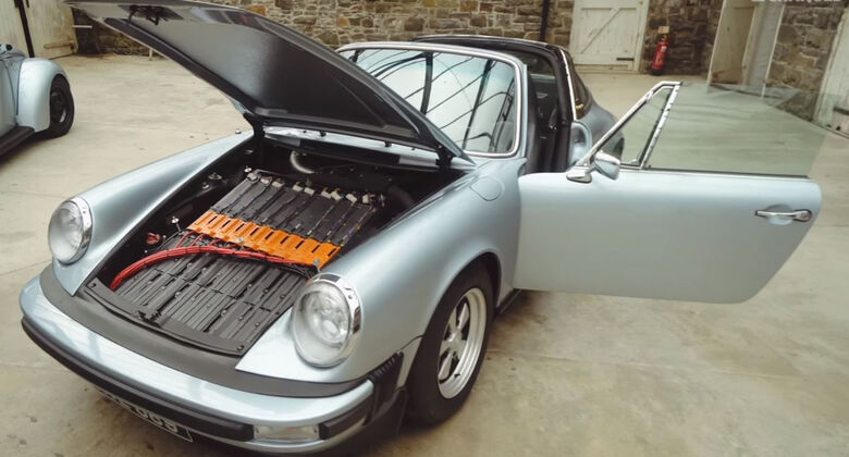 Porsche 911E, Elektro-Porsche, Richard Morgan, Fully Charged