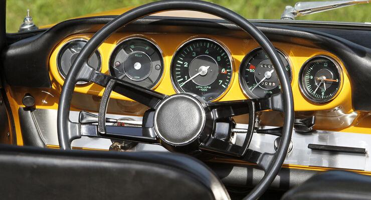 Porsche 912 Targa Cockpit
