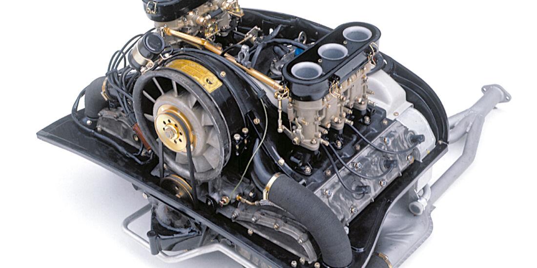 Porsche 914/4 und 914/6, Motor, Triebwerk