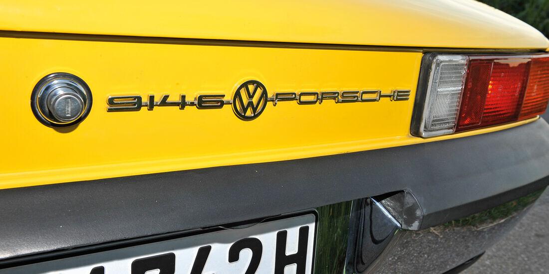 Porsche 914/6, Typenbezeichnung, Heck