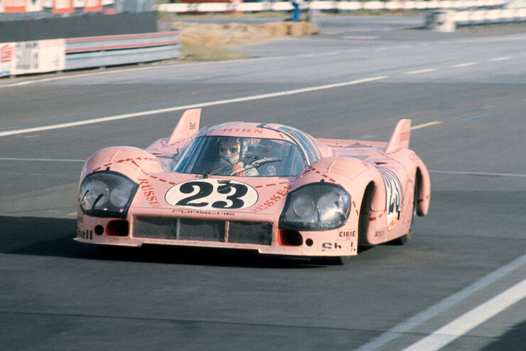 "Porsche 917/20 Coupé - Rennwagen - Spitzname ""Rosa Sau"""