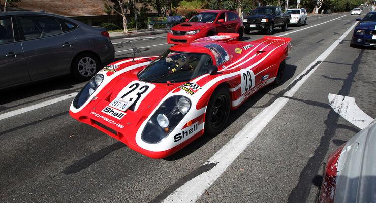Porsche 917-Nachbau, Frontansicht