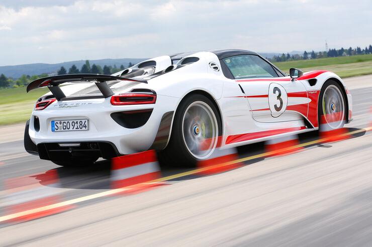 Porsche 918 Spyder fast ausverkauft: Nachfrage übersteigt Angebot