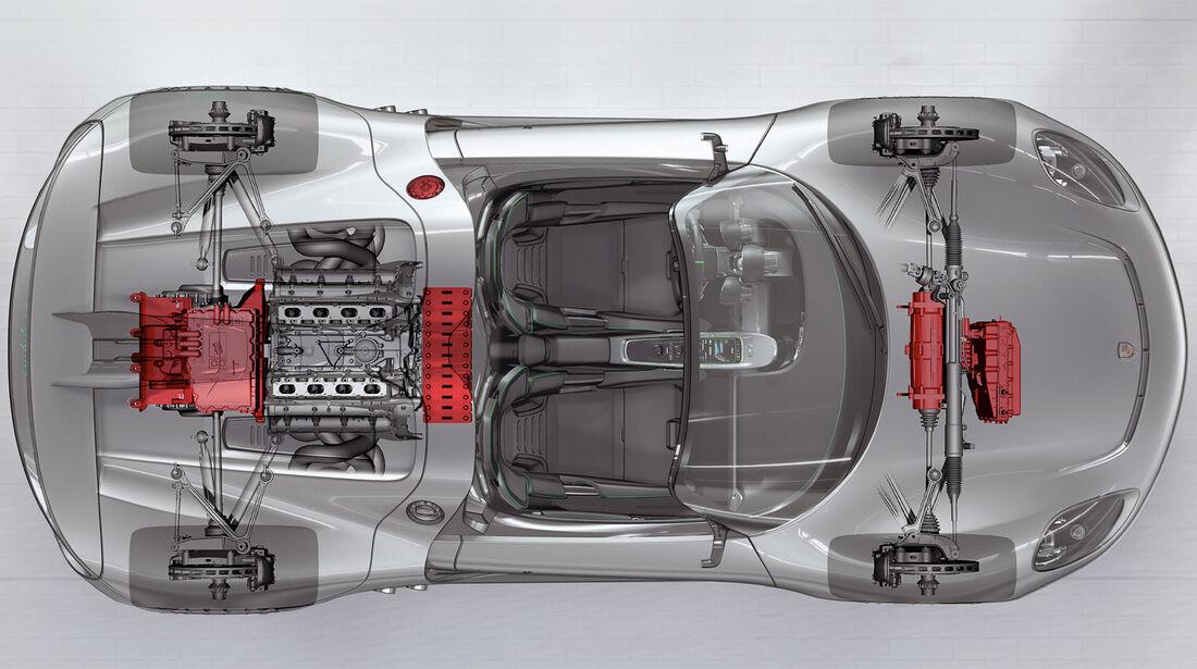 Porsche 918 Spyder, Grafik