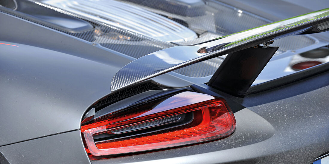 Porsche 918 Spyder, Heckspoiler