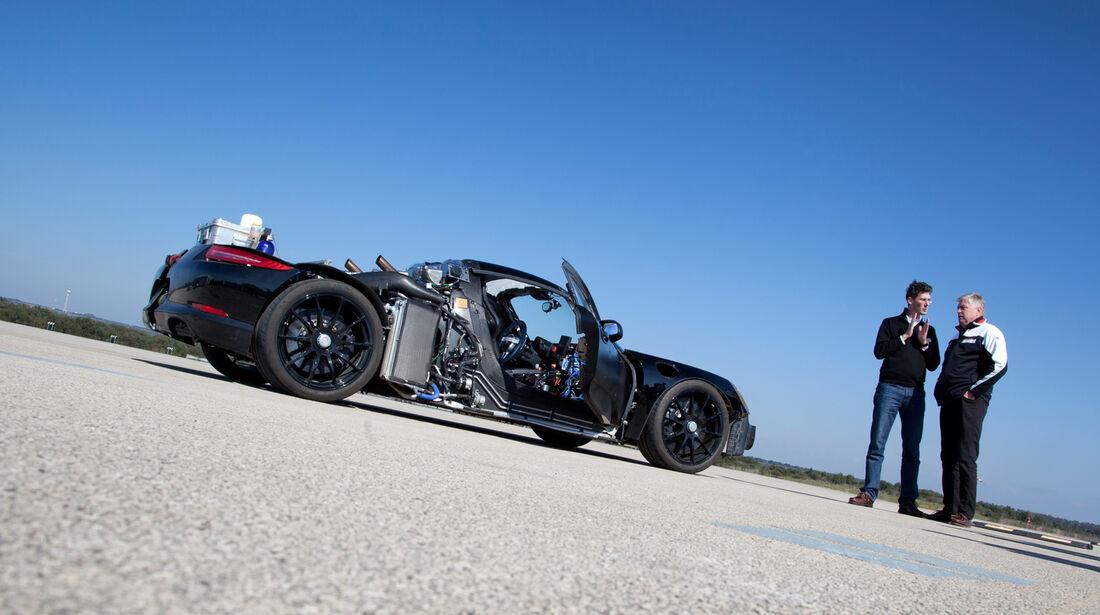 Porsche 918 Spyder, Seitenansicht, Hatz, Walliser