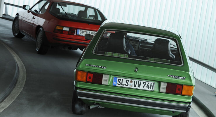 Porsche 924 Turbo, VW Scirocco TS