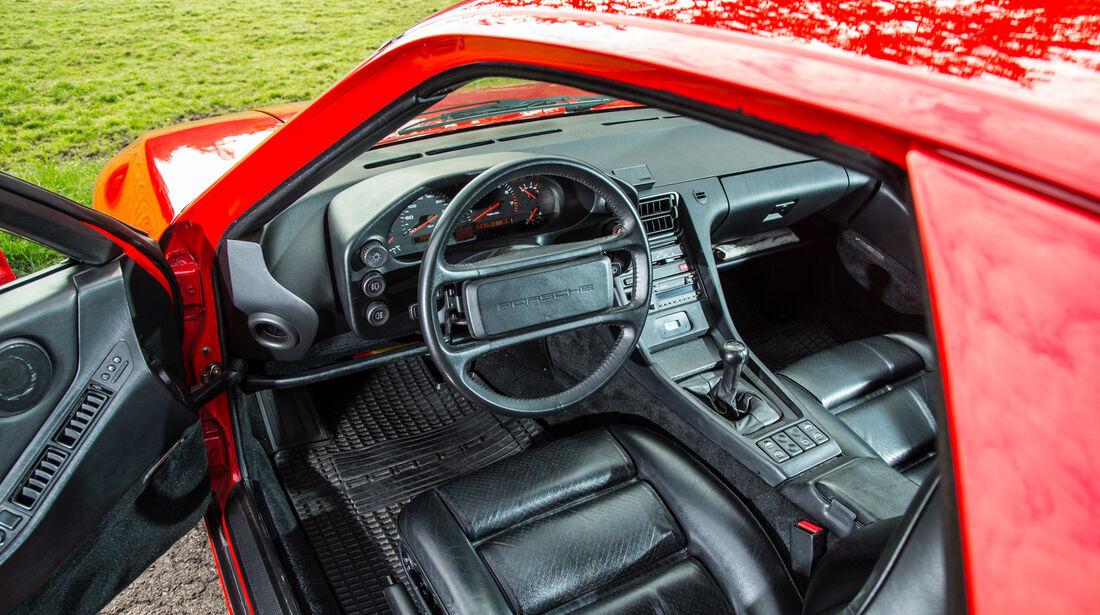 Porsche 928 GT, Cockpit