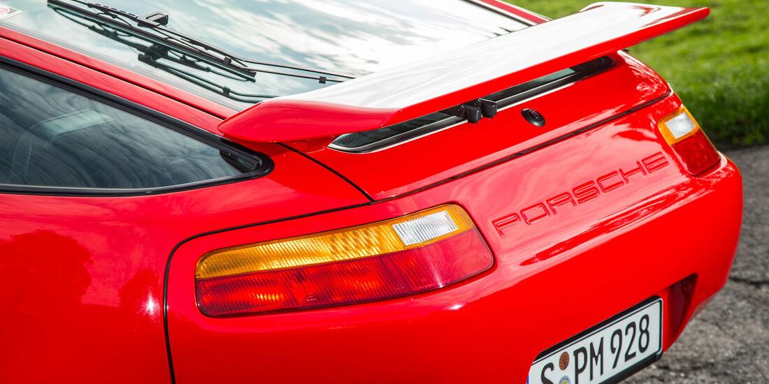 Porsche 928 GT, Heckspoiler