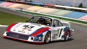 Porsche 935/78 - Rennwagen - Spitzname 'Moby Dick'
