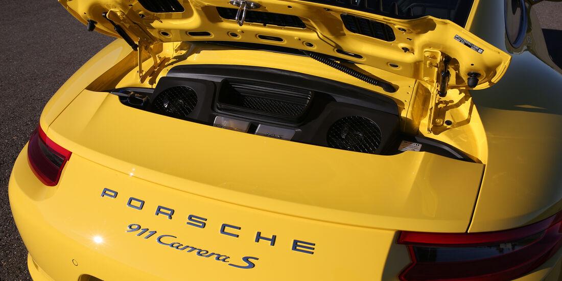 Porsche 991 Carrera S, Motor