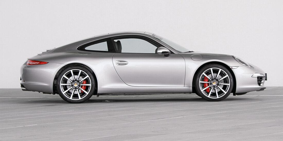 Porsche 991, Seitenansicht