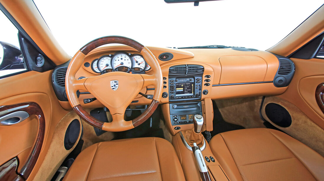 Porsche 996/997, Cockpit