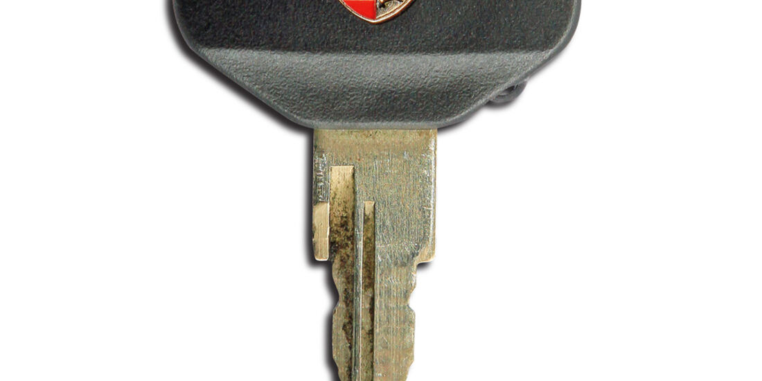 Porsche 996/997, Zünschlüssel