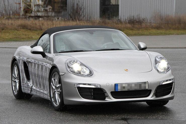Porsche Boxster Erlkönig