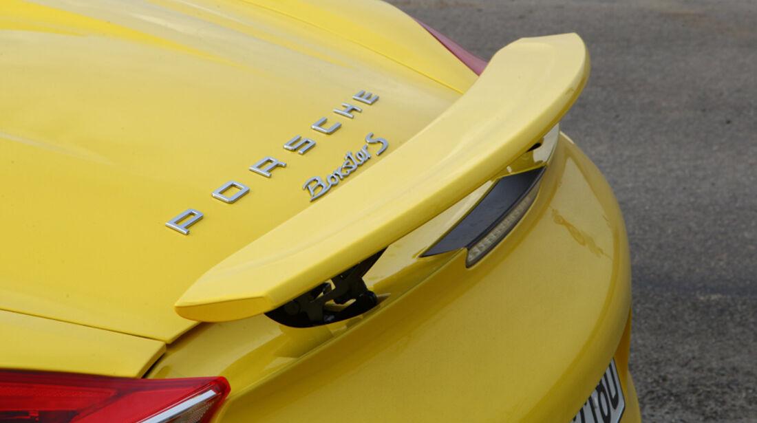 Porsche Boxster, Heckspoiler