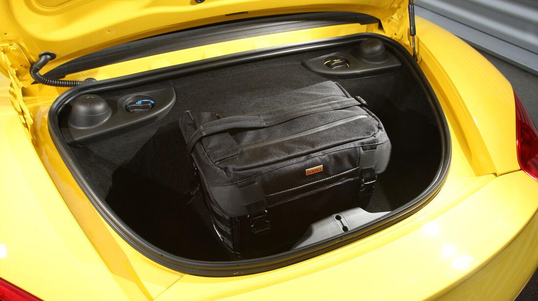 Porsche Boxster, Kofferraum