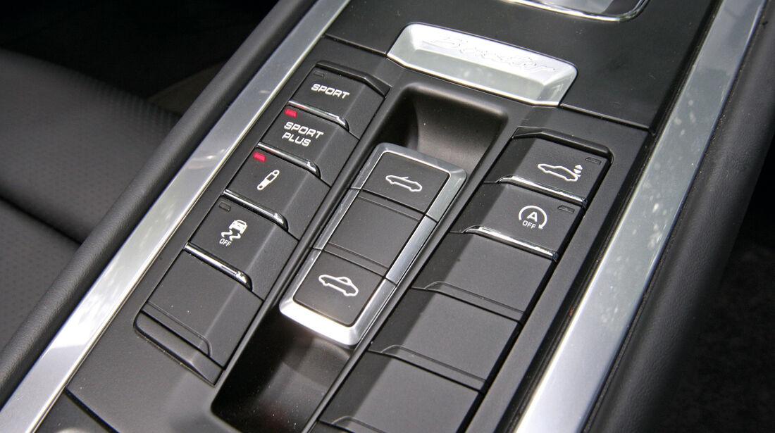 Porsche Boxster S, Fahrprogramme, Dachöffner
