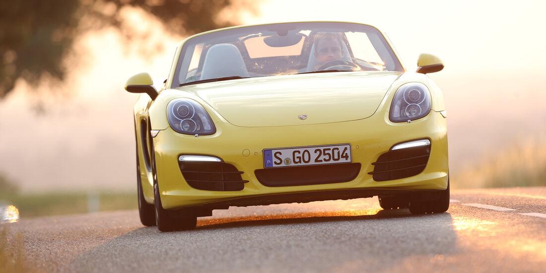 Porsche Boxster S, Frontansicht
