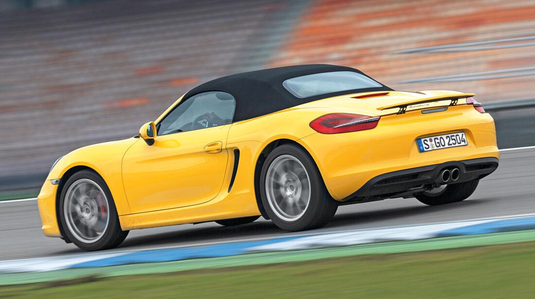 Porsche Boxster S, Seitenansicht