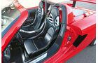 Porsche Carrera GT, Fahrersitz