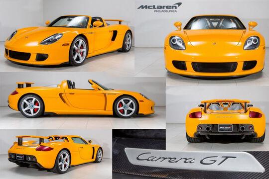 Porsche Carrera GT Gebrauchtwagen USA Verkauf McLaren