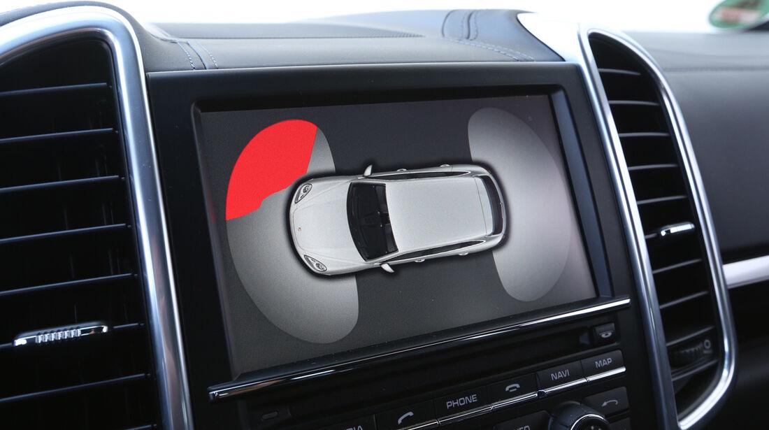 Porsche Cayenne Diesel, Bildschirm