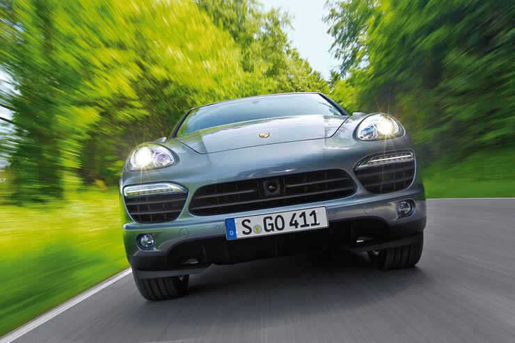 Porsche Cayenne Hybrid, Frontansicht, KŸhlergrill
