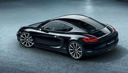 Porsche Cayman 981, Black Edition