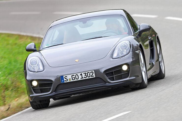 Porsche Cayman, Frontansicht