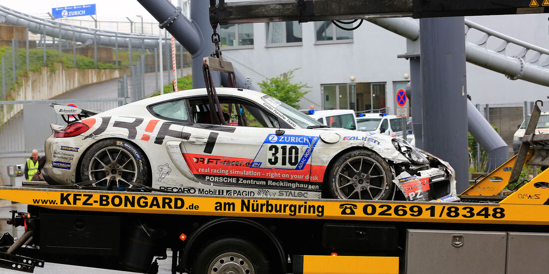 Porsche Cayman GT4 CS - Startnummer #310 - 24h-Rennen Nürburgring 2018 - Nordschleife - 13.5.2018