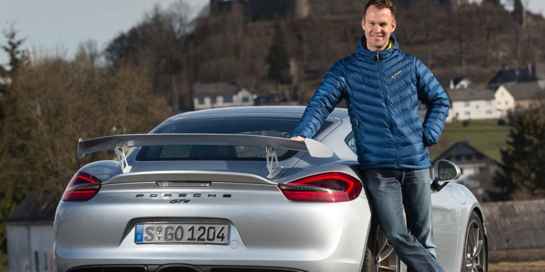 Porsche Cayman GT4, Christian Gebhardt