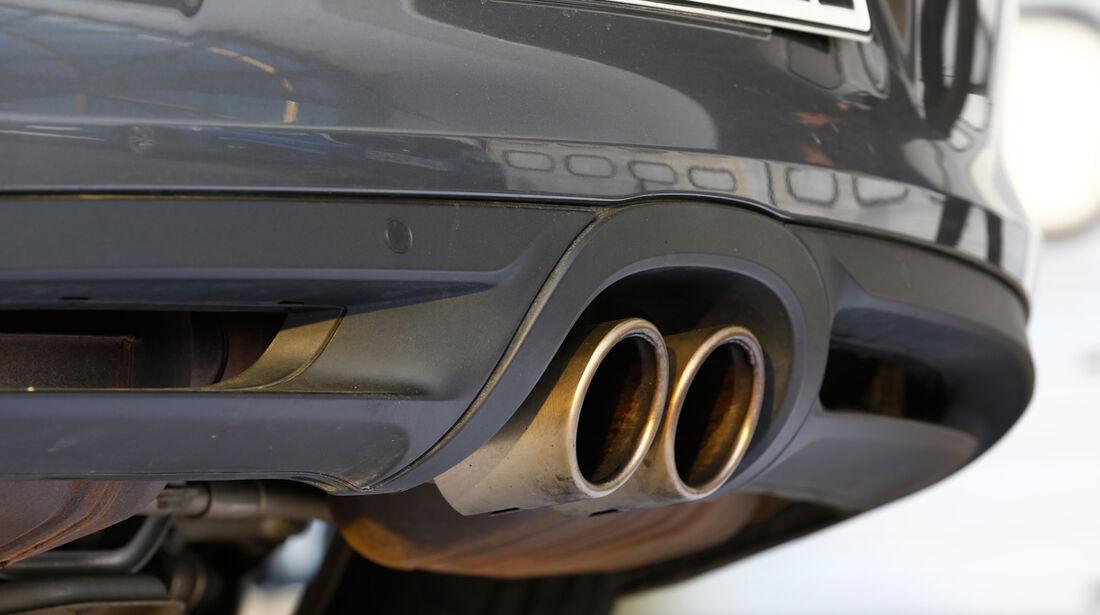 Porsche Cayman S, Endrohre, Auspuff