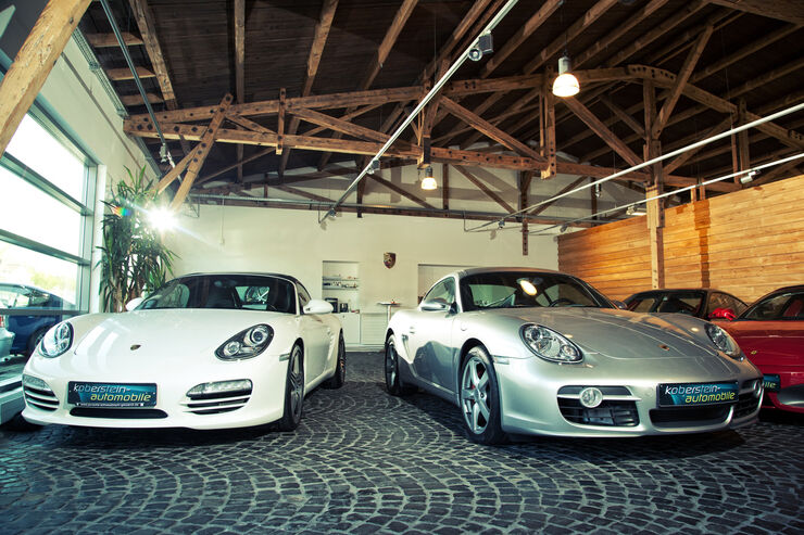 porsche cayman s und boxster s als gebrauchtwagen boxer power mit rund 300 ps f r euro. Black Bedroom Furniture Sets. Home Design Ideas