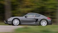 Porsche Cayman, Seitenansicht