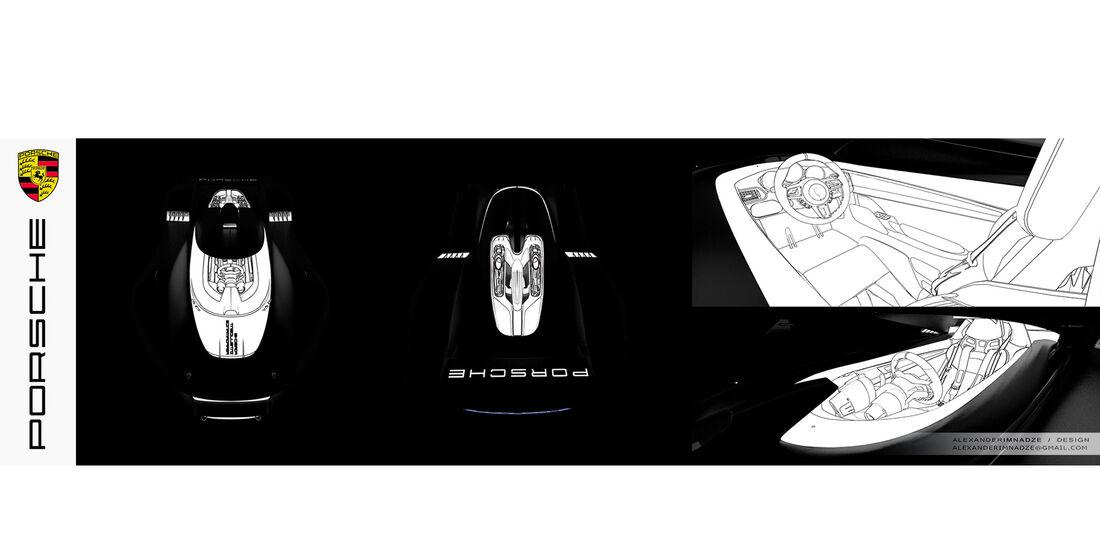 Porsche GT Vision 906/917 Concept - Sportwagen
