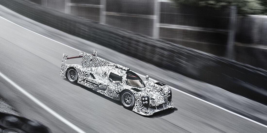 Porsche LMP1 CGI 2013