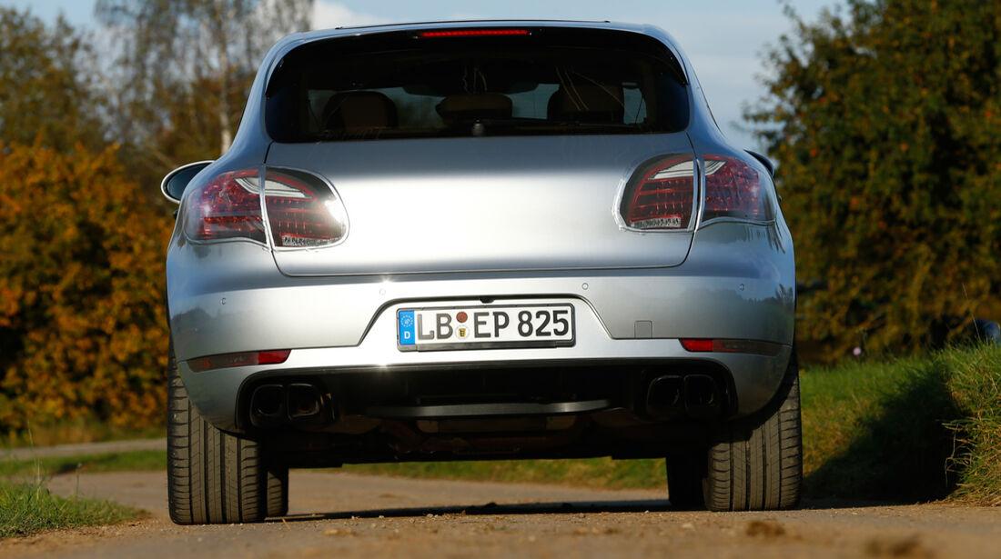 Porsche Macan, Heckansicht