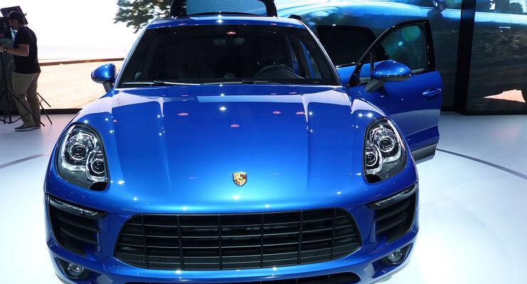 Porsche Macan, L.A. Auto Show