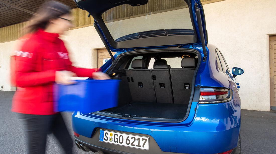 Porsche Macan S, Kofferraum
